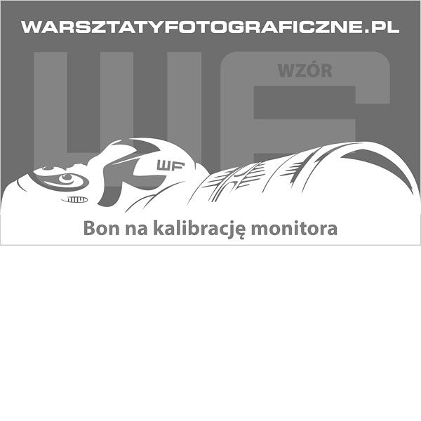 Bon podarunkowy – kalibracja monitora. Warsztaty Fotograficzne.
